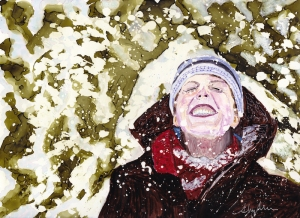 Joy in the snow copy