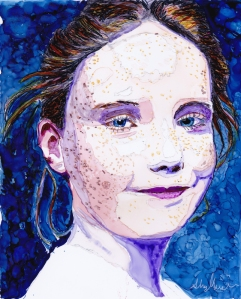 Little girl with freckles 2 copy