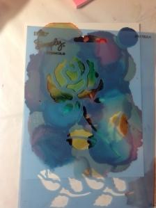 Flower Stencil 2