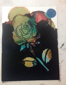 Flower Stencil 4